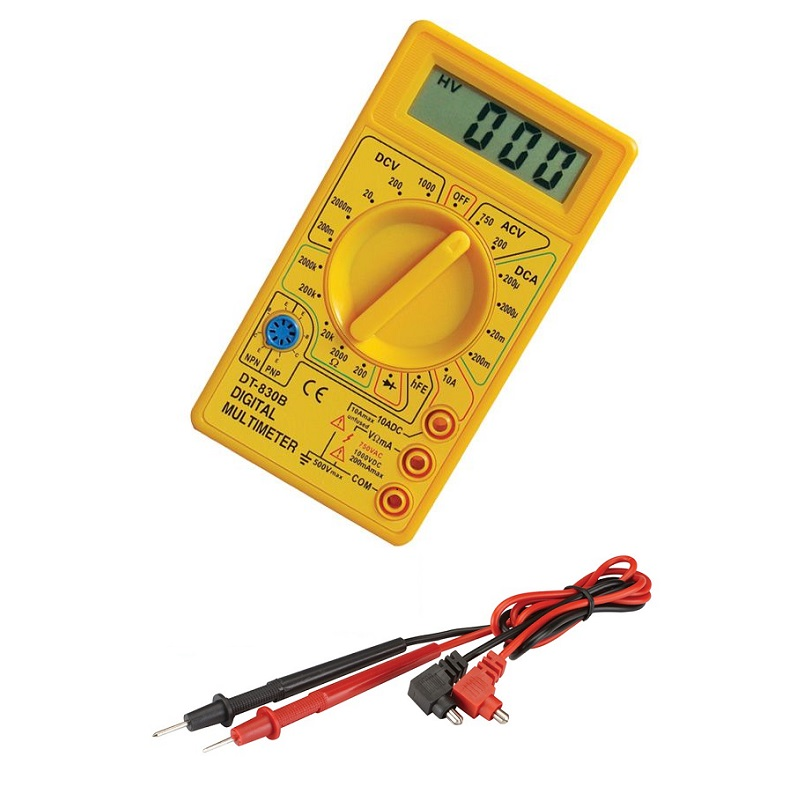 πολυμετρο ψηφιακο DT-830B