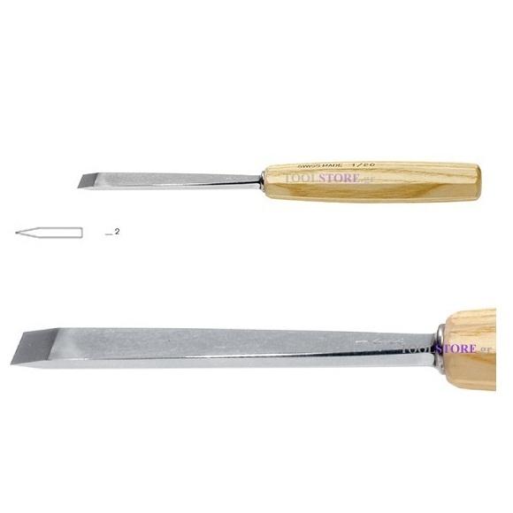 pfeil 1/2 σκαρπέλο ξυλογλυπτικής ευθεία λάμα ίσια κόψη 2mm