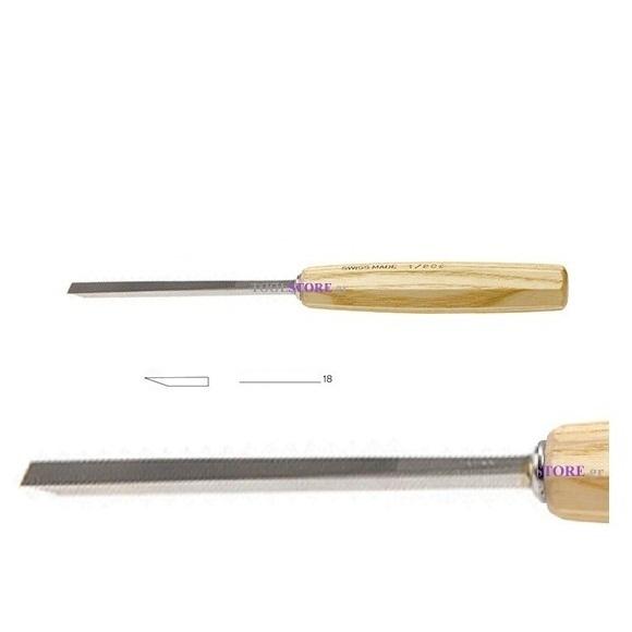 pfeil 1/18e  σκαρπέλο ξυλογλυπτικής ευθεία λάμα ίσια μονή κόψη 18mm