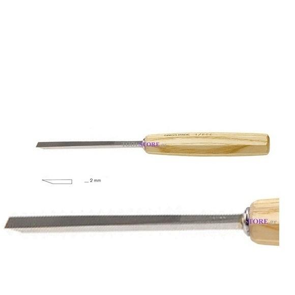pfeil 1/2e σκαρπέλο ξυλογλυπτικής ευθεία λάμα ίσια μονή κόψη 2mm