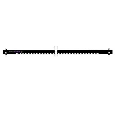 PROXXON 28745 λαμα με λεπτη οδοντωση 12 τμχ