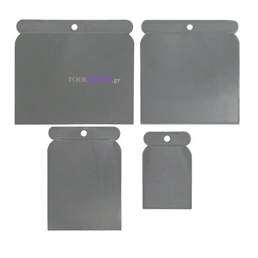 ατσαλινες (τακιμια) πλαστικες σετ 4 τεμαχιων AMTECH