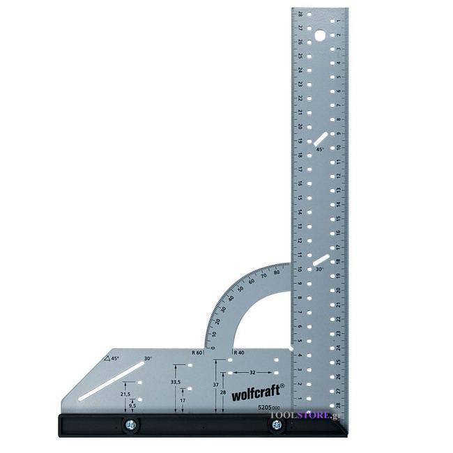 wolfcraft 5205000 γωνια μαραγκου 200 Χ 300mm