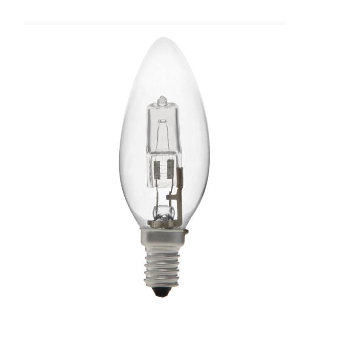 λάμπα αλογόνου κερί E14 42W
