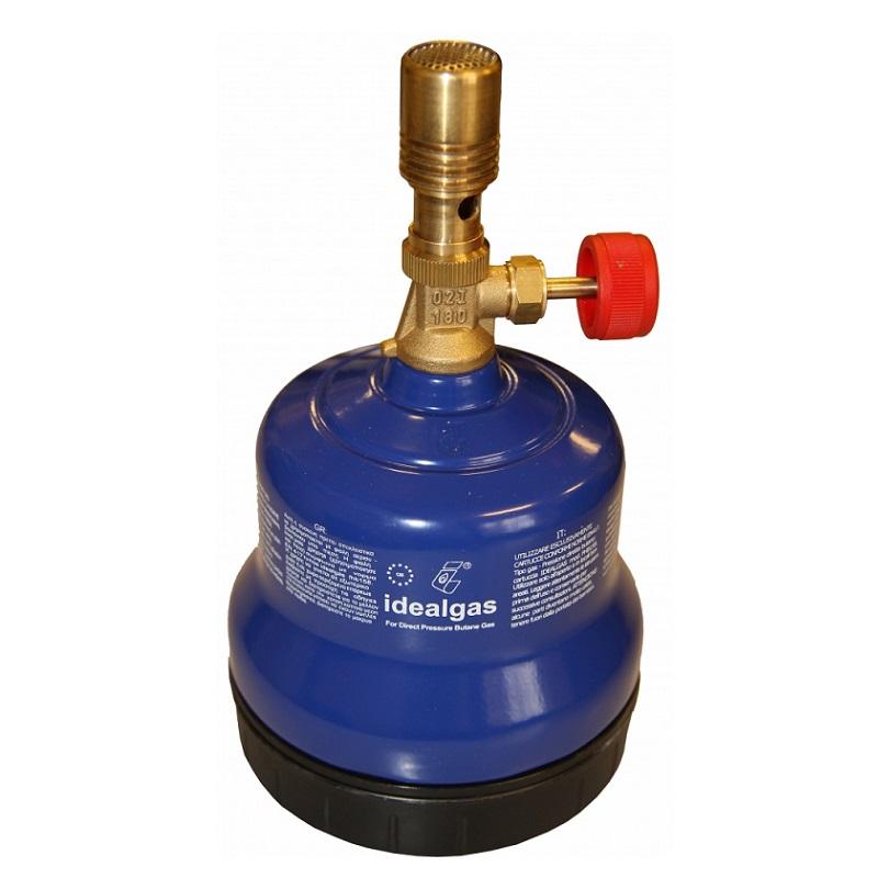 Idealgas FHBUN φλόγιστρο υγραερίου τύπου BUNSEN μεταλλικό made in Italy