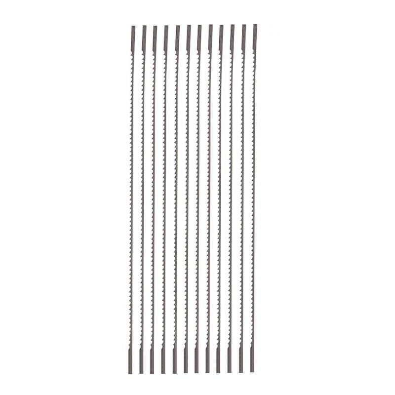 Varo KRT803002 λάμες για πριόνι ξυλογλυπτικής, σετ 12 τεμάχια, 130mm