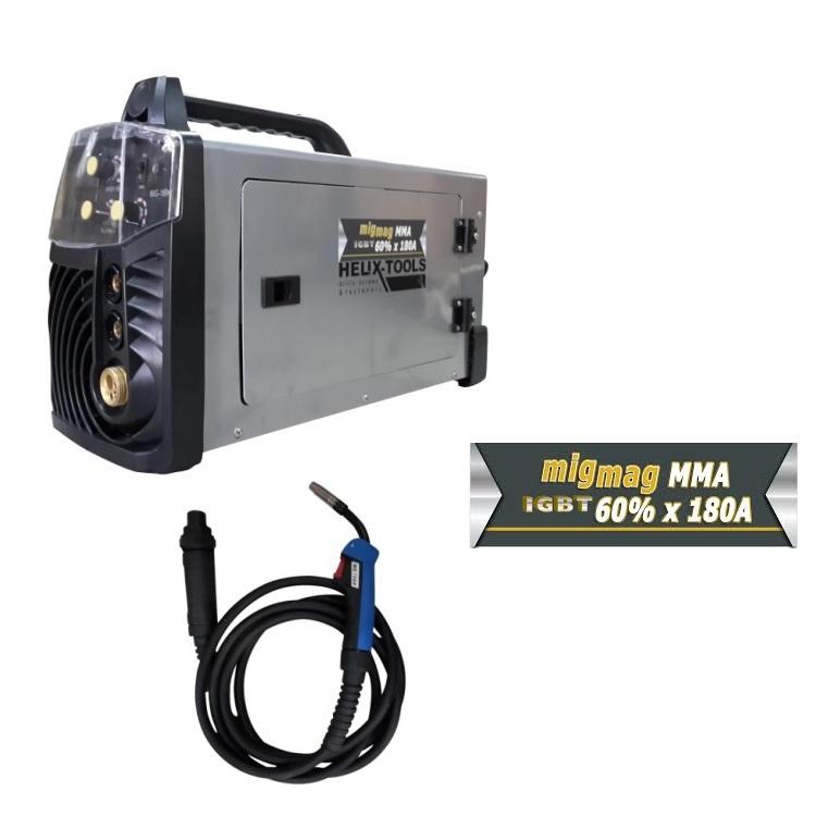 ηλεκτροκολληση Inverter IGBT MIG/MAG -MMA 180A επαγγελματικη