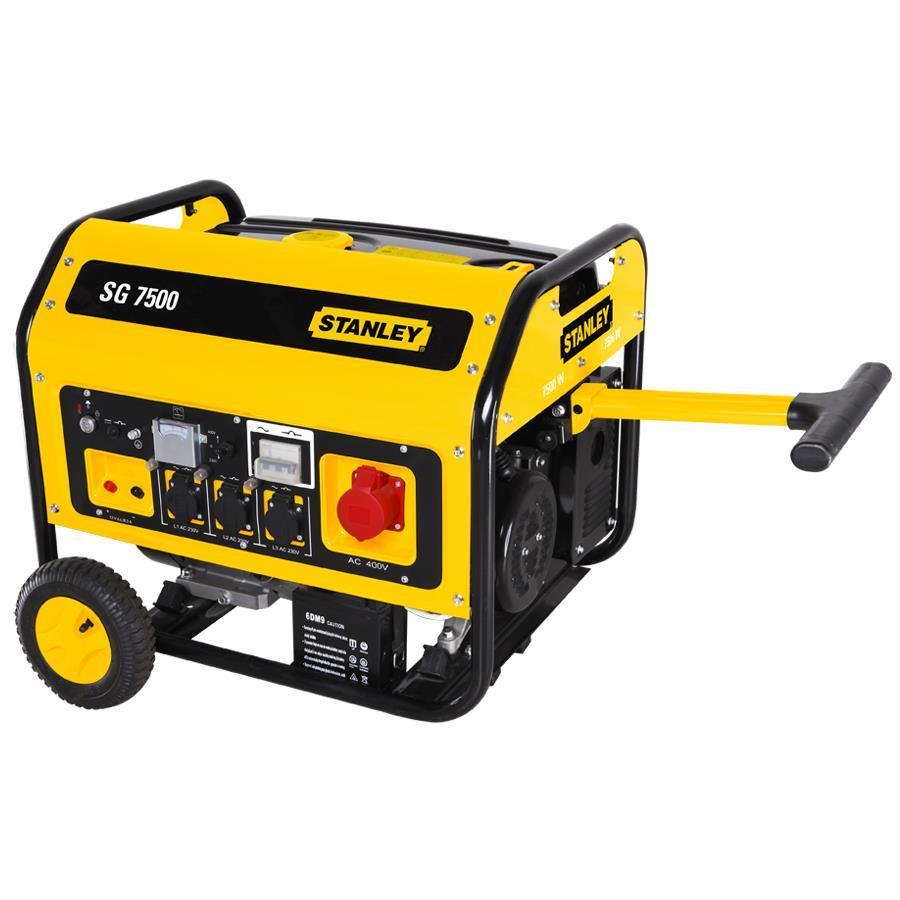STANLEY SG 7500 ηλεκτρογεννήτρια τριφασική βενζινοκίνητη 7500W