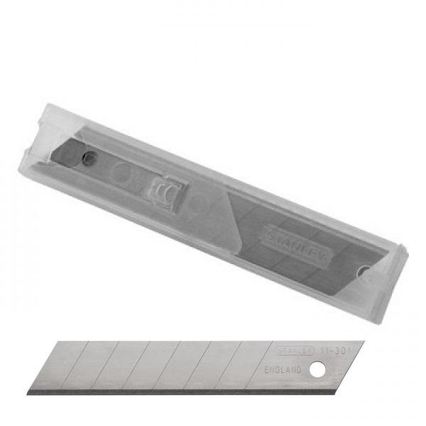 λαμες STANLEY 0-11-301 φαρδυες 18mm σε  διανεμητη (10 τεμαχια)