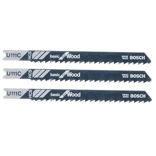 3 λαμες BOSCH U111C για ξυλο made in Switzwerland