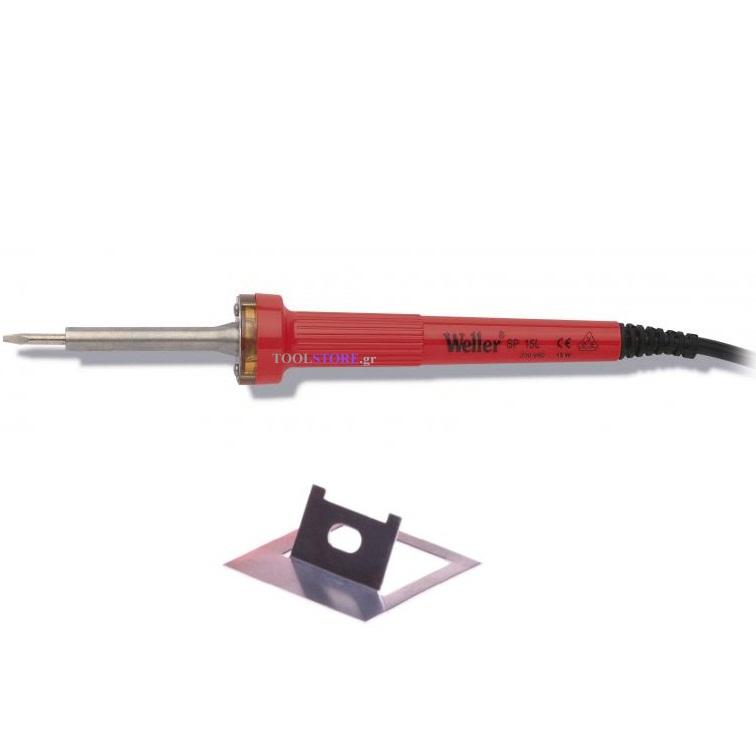 κολλητηρι ηλεκτρικο Weller SP 15L 15W ισιο με πλακε μυτη