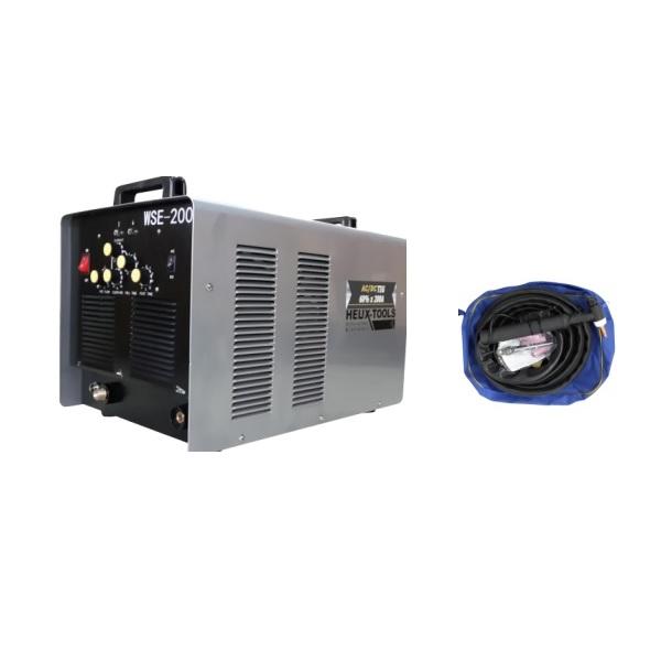 ηλεκτροκολληση Inverter AC/DC TIG/MMA 200A επαγγελματικη