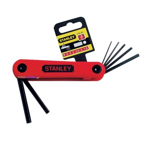 STANLEY 4-69-261 σετ αλεν σουγιας 1.5-6mm