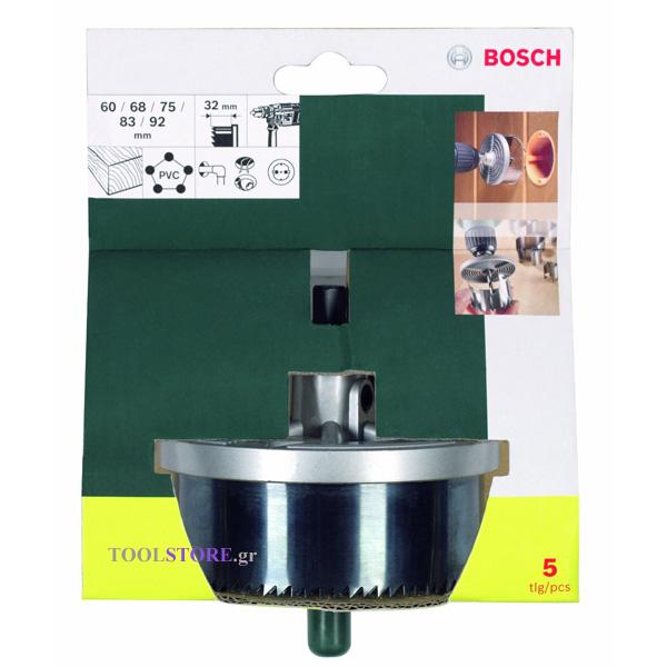ποτηροτρυπανα BOSCH 32mm βάθος,60-92mm