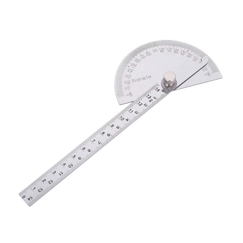 γωνιόμετρο, μοιρογνωμόνιο μεταλλικό τύπος 14.5cm