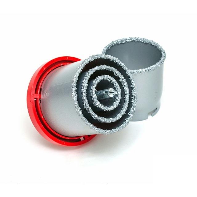 σετ ποτηροκορωνες για τοιχο, πλακακι 4 τμχ 33-73mm