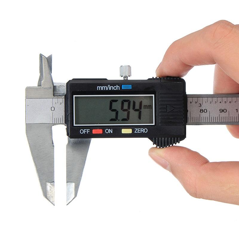 παχύμετρο ψηφιακό 150mm σε πλαστική κασετίνα