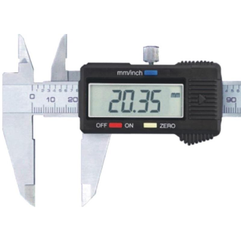 παχυμετρο ψηφιακο 150mm  σε πλαστικη κασετινα