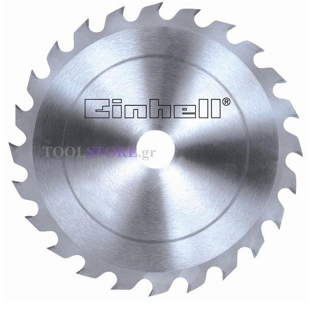 δισκος κοπης ξυλου 210Χ30mm Einhell  4502048 24 δοντια