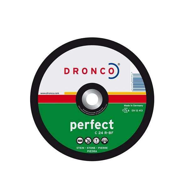 DRONCO 1117015 δισκος κοπης πετρας με κουρμπα 115X3mm