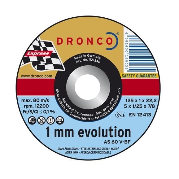λεπτος δισκος κοπης inox DRONCO evolution  115mm