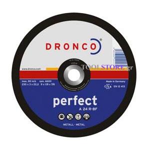 DRONCO 1230015 δισκος κοπης μεταλλου 230mm