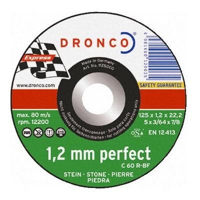 λεπτος δισκος κοπης πετρας DRONCO 125mm