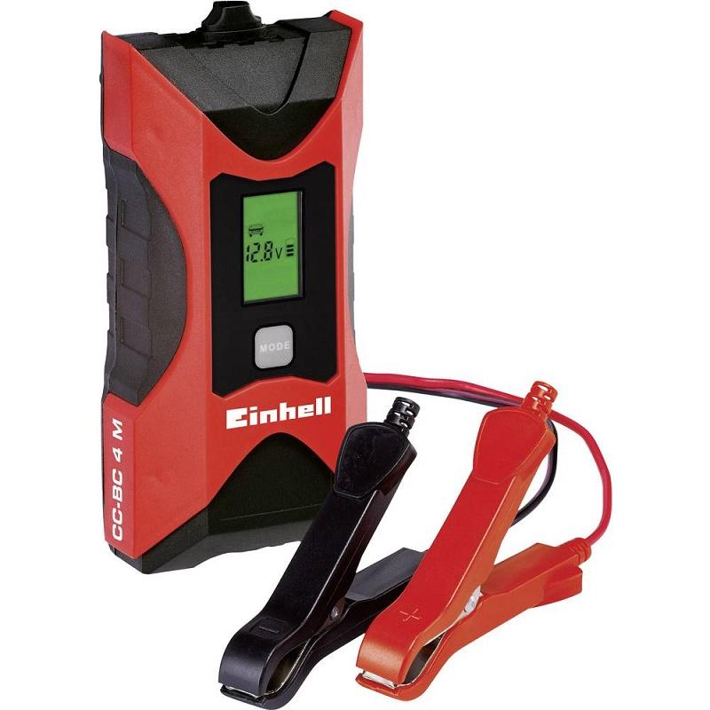 Einhell 1002221 φορτιστής μπαταρίας CC-BC 4 M, 6 V / 12 V 3 Αh - 120 Ah