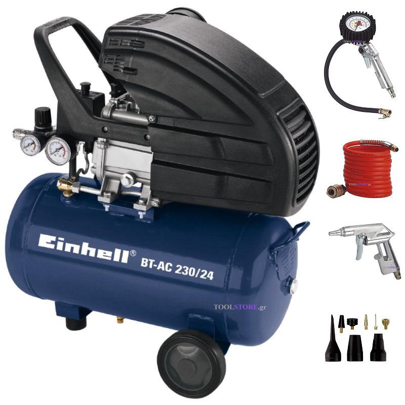 Einhell  4010352 κομπρεσερ 24lt BT-AC 230/24 Kit