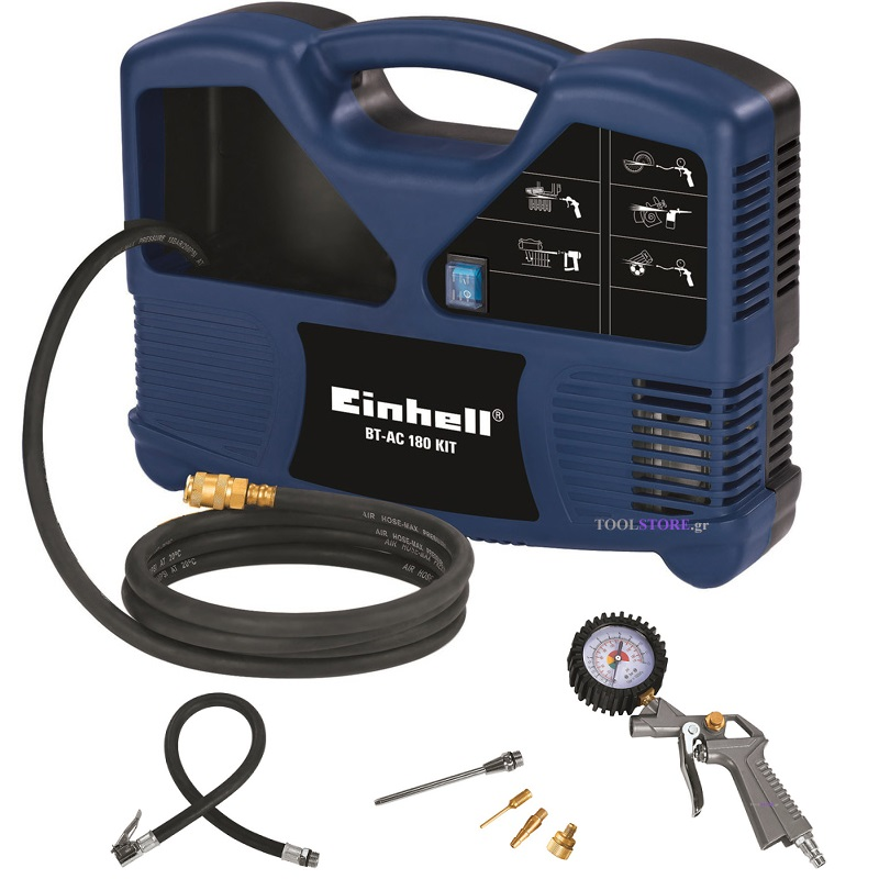 Einhell 4020520 κομπρεσερ BT-AC 180 Kit