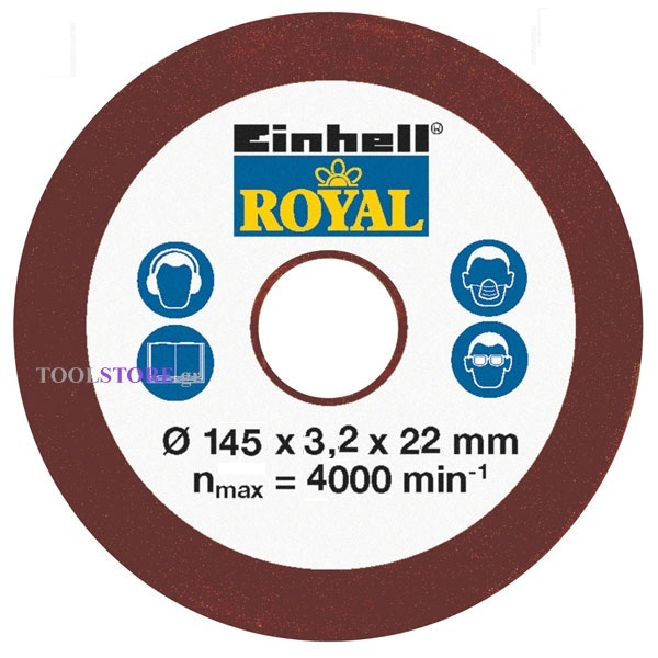 Einhell 4500080 τροχιστης αλυσιδας 235W ανταλλακτικος δισκος 3.2 mm