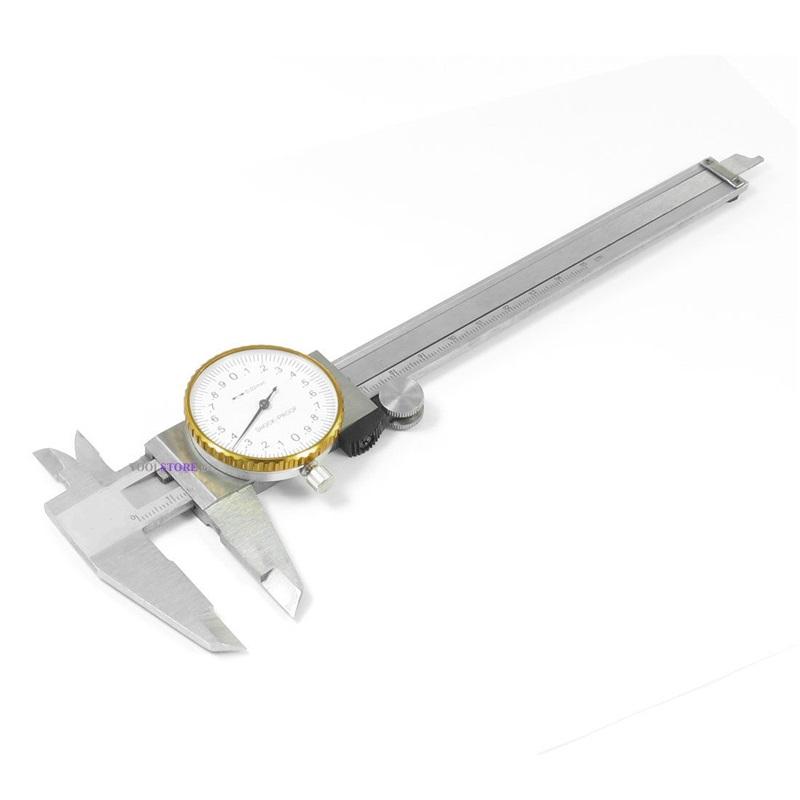 παχυμετρο ωρολογιακο 0-150mm EVERCRAFT 776-9151