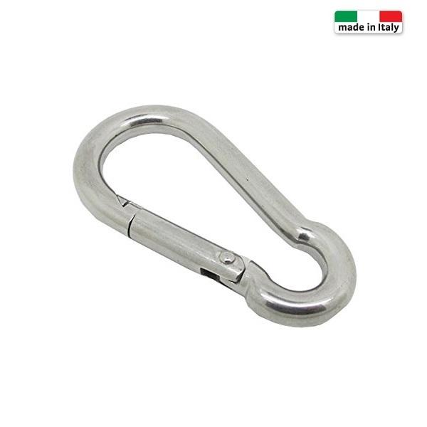 γαντζος ασφαλειας inox AISI 304 4X40mm