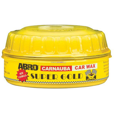 γυαλιστικο αυτοκινητων ABRO Super Gold Car Wax με Carnauba 230gr
