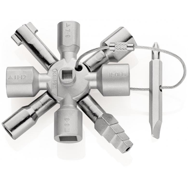KNIPEX 001101 TwinKey για ολες τις ντουλαπες κεντρικων εγκαταστασεων