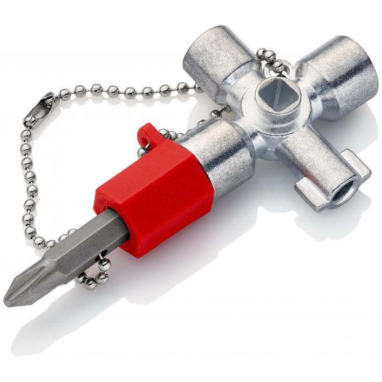 KNIPEX 001102 κλειδι συντηρητων για ντουλαπες και πινακες