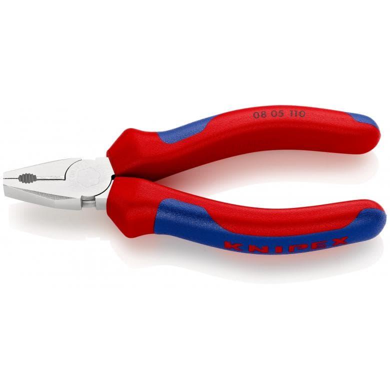 KNIPEX 0805110 μινι πενσα επιχρωμιωμενη με βαρια μονωση 110mm