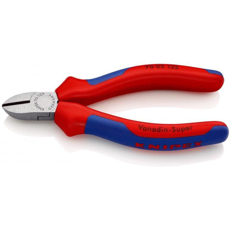 KNIPEX 7002125 πλαγιοκοφτακι στιλβωμενο με βαρια μονωση 125mm