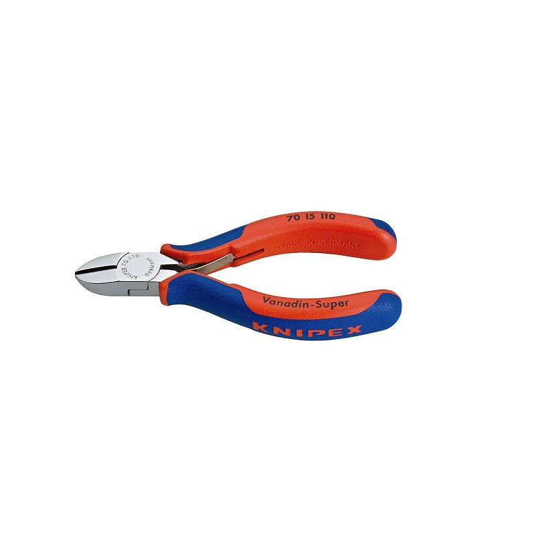 KNIPEX 7015110 πλαγιοκοφτακι γενικης χρησης επιχρωμιωμενο β.μ. 110mm