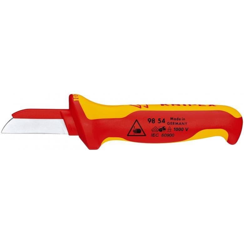 KNIPEX 9854 μαχαιρι ηλεκτρολογου με μονωση