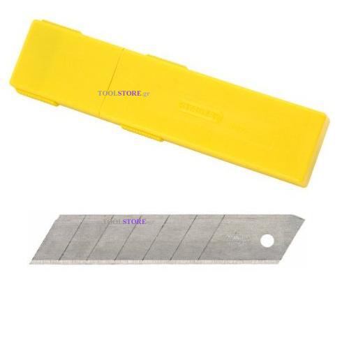 λαμες STANLEY 0-11-325 πολυ φαρδυες 25mm σε κουτι 10 τεμαχια