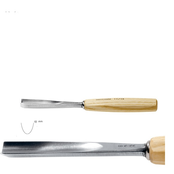 pfeil 11/10 σκαρπέλο ξυλογλυπτικής ευθεία λάμα βαθιά κοίλη κόψη 10mm