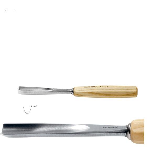 pfeil 11/7 σκαρπέλο ξυλογλυπτικής ευθεία λάμα βαθιά κοίλη κόψη 7mm