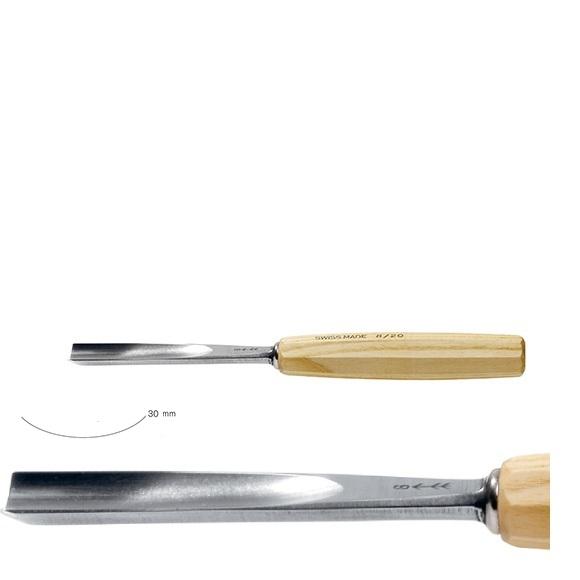 pfeil 7/30 σκαρπέλο ξυλογλυπτικής ευθεία λάμα κοίλη κόψη 30mm