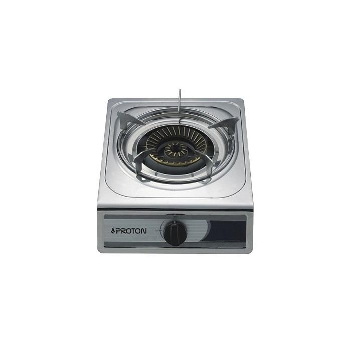 κουζινακι υγραεριου PROTON SS01 επιτραπεζιο INOX με 1 εστια
