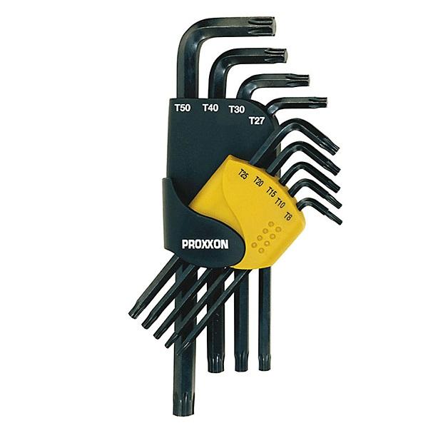 PROXXON 23944 σετ 9 κλειδια τορξ TX 8-50