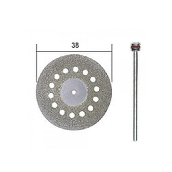 PROXXON 28846 δισκος αδαμαντος με τρυπες, διαμετρου 38mm