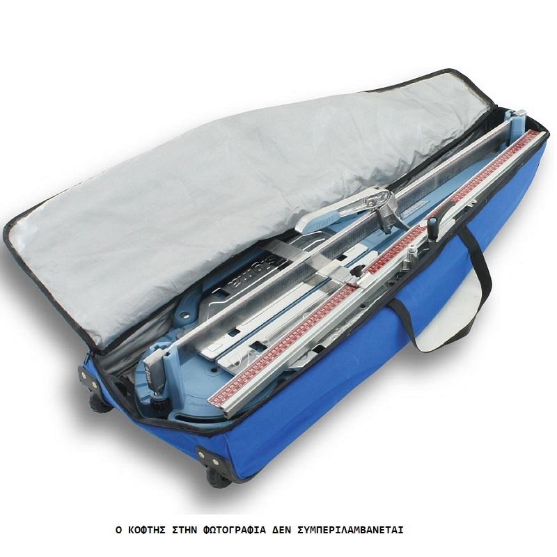sigma 43E1, βαλίτσα υφασμάτινη με ρόδες για τους κόφτες sigma 3E4M, 3E4K