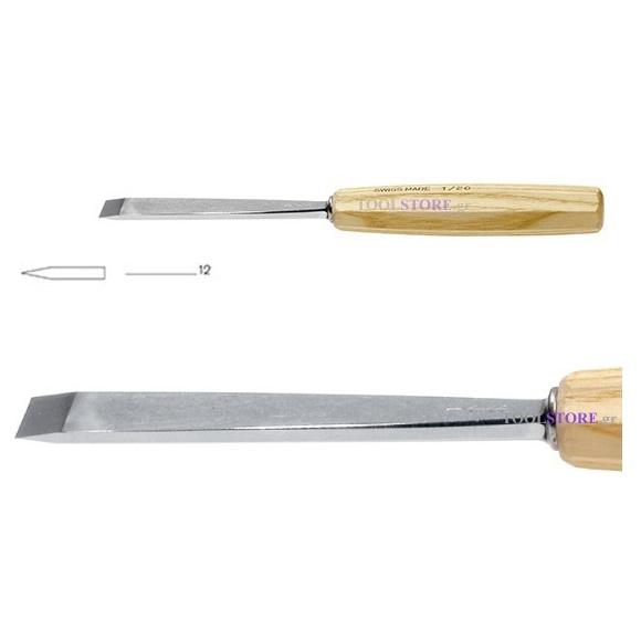pfeil 1/12 σκαρπέλο ξυλογλυπτικής ευθεία λάμα ίσια κόψη 12mm