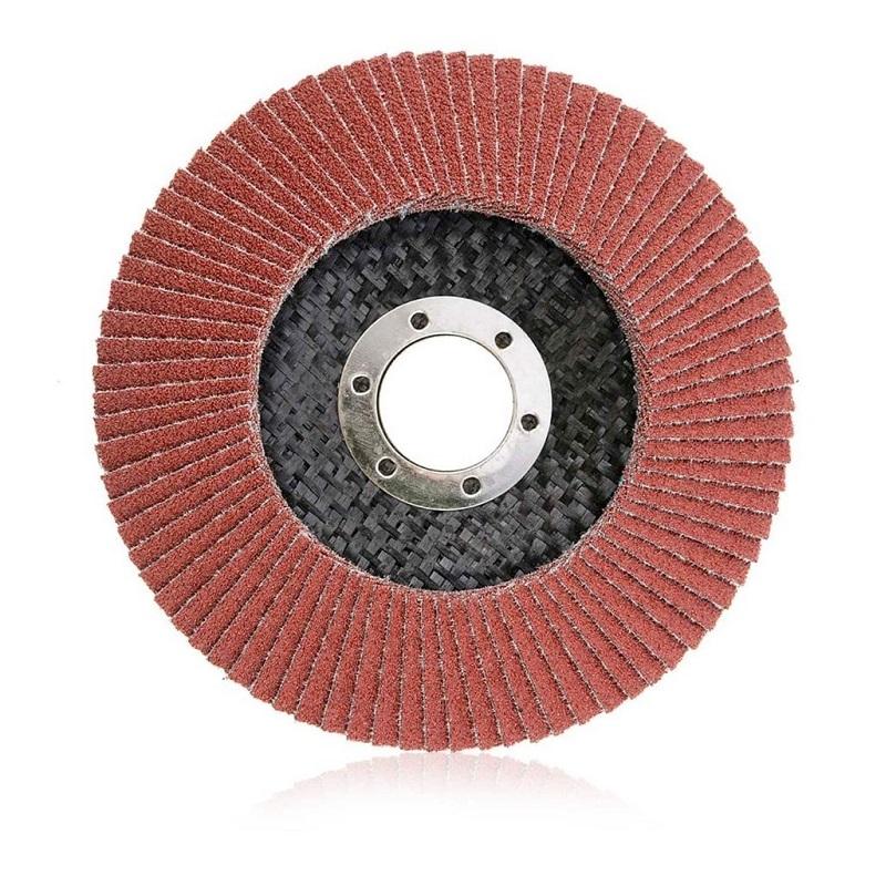 smirdex 919 φτερωτός δίσκος για μέταλλα, μακράς διαρκείας 100% κεραμικός, 125mm No. 100
